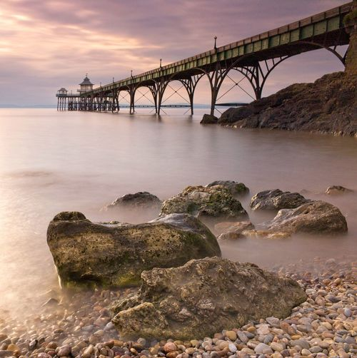 Clevedon pier long exposure, somerset.