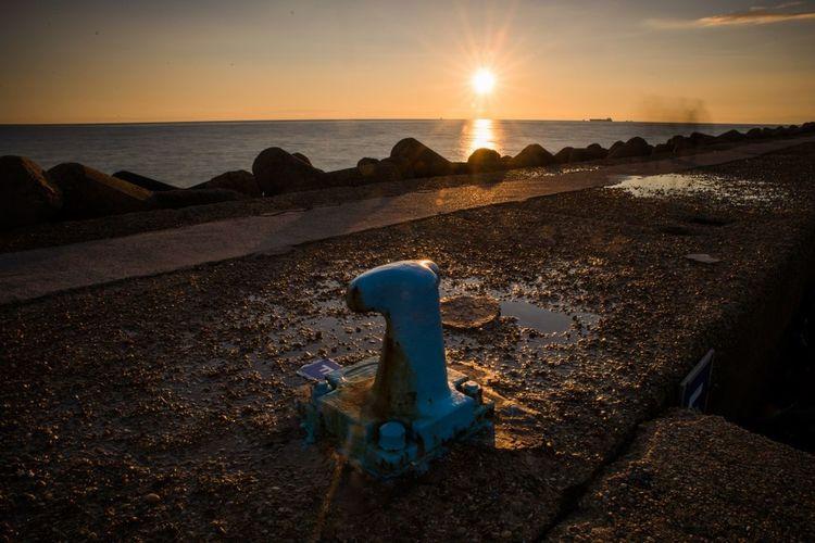 Photo Photooftheday Eyeemphotography Nikon D610 Tramonto Sunset_collection Sunset Mare Sea Porto Scatti  Nikon Tempolibero Port Photo♡ First Eyeem Photo