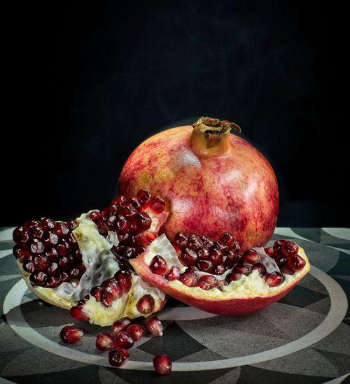 Pomegranate on