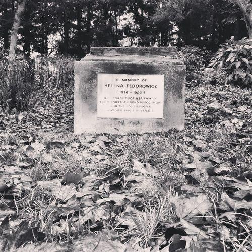 In memory of Helena Fedorowicz Memorial Fedorowicz London Polish
