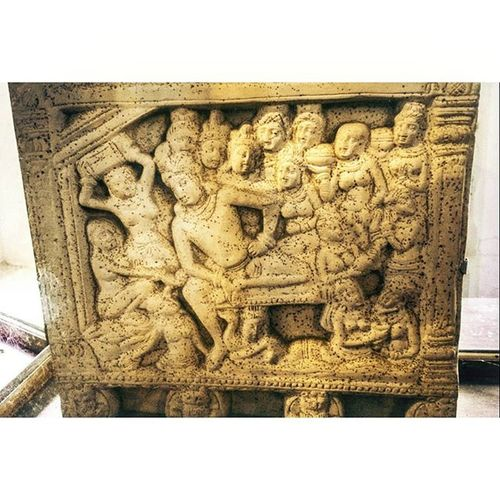 Stone Carvings Handmade 👐 Almighty  Lordkrishna 🙏 Thrissurmuseum 🎆🎇 Motog3gen 📱AdobeLightroom Afterlight Like4likes