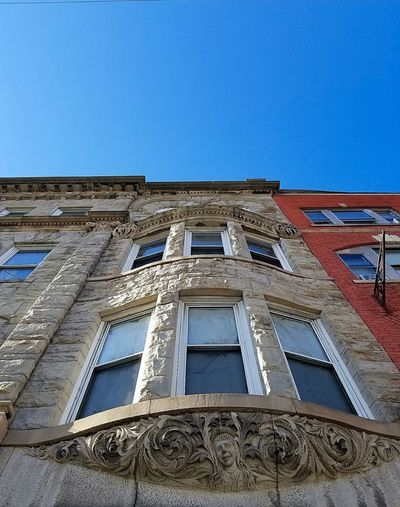 Architecture Built Structure Building Exterior Low Angle View Day History Travel Destinations Art Is Everywhere Carbondale Historical Building City Arts Culture And Entertainment Sculpture American Hotel Ornate Architecture