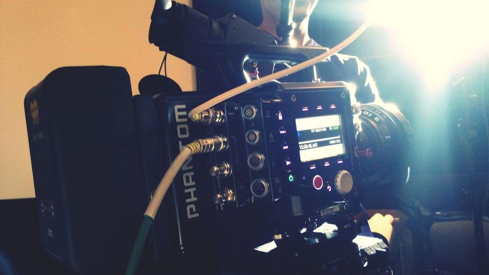 Единственная в России камера Phantom Flex4K, снимающая почти 1000 кадров в секунду 4K формата