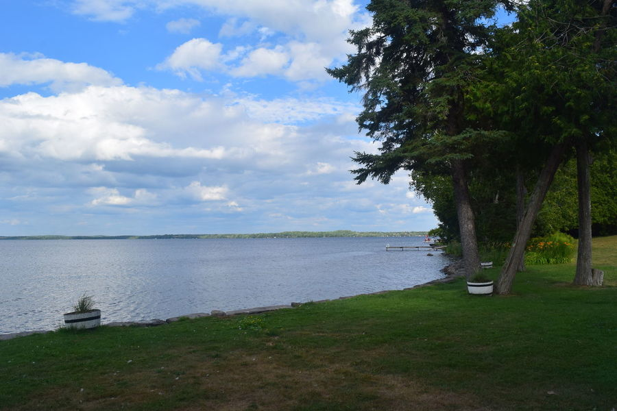 Cottage Days Nature Up North Bluesky Boat Cabin Cloud - Sky Cottage Daylight Lake Lake View