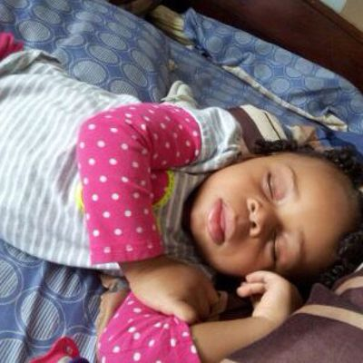 Little sis is knocked out lol