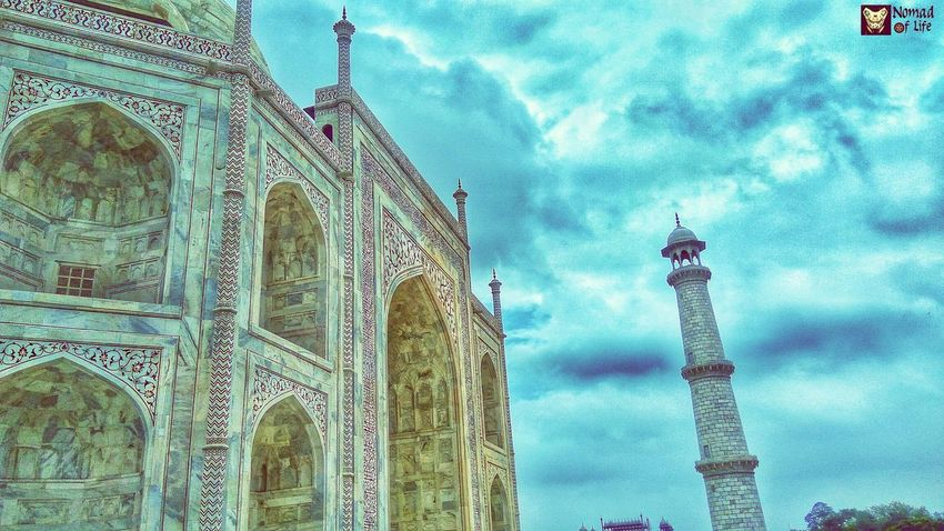 What do you think about this one? Need your opinions please 😊 Architecture Low Angle View Built Structure Travel Destinations Sky Tower Tourism Cloud - Sky History Spirituality Travel Religion Day Outdoors Place Of Worship Building Exterior No People City Global Communications Eyeemphotography Traveldiary2017 Tranquil Scene Taj Mahal, Agra Travelgrams Photography