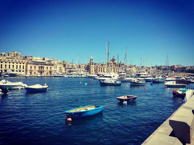 The picture postcard 3cities Senglea Malta