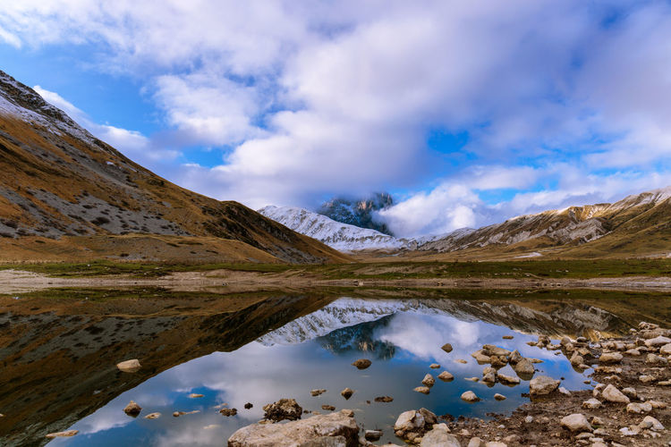 Lake pietranzoni is one of the wonders immersed in the heart of abruzzo.