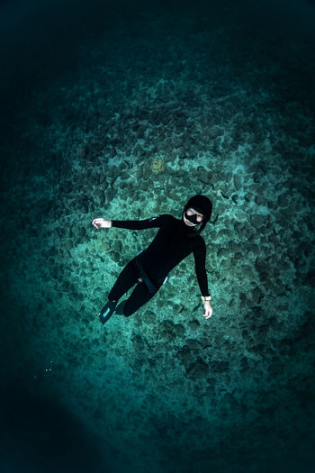 japan Sea Underwater UnderSea Full Length Water One Person Swimming Nature Aquatic Sport Sport Exploration Sea Life Scuba Diving Animal Wildlife Adventure Outdoors Marine Underwater Diving