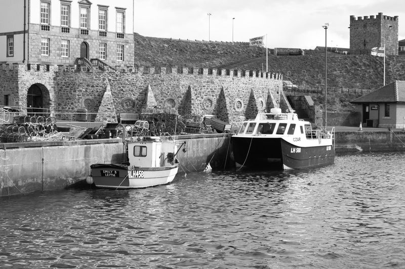 Day Eyemouth Fishing Village Outdoors Scotland Sea Seaside Uk United Kindom