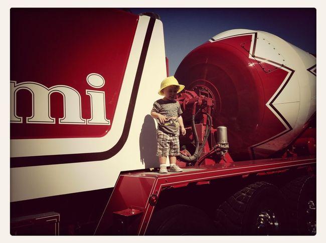 Touch-A-Truck....mixer
