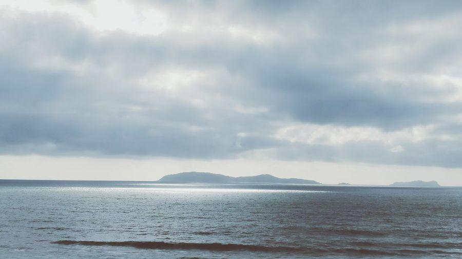 Ocean blue Overcast Cloud - Sky Water Beach Outdoors Ocean View San Antonio Del Mar, Baja California