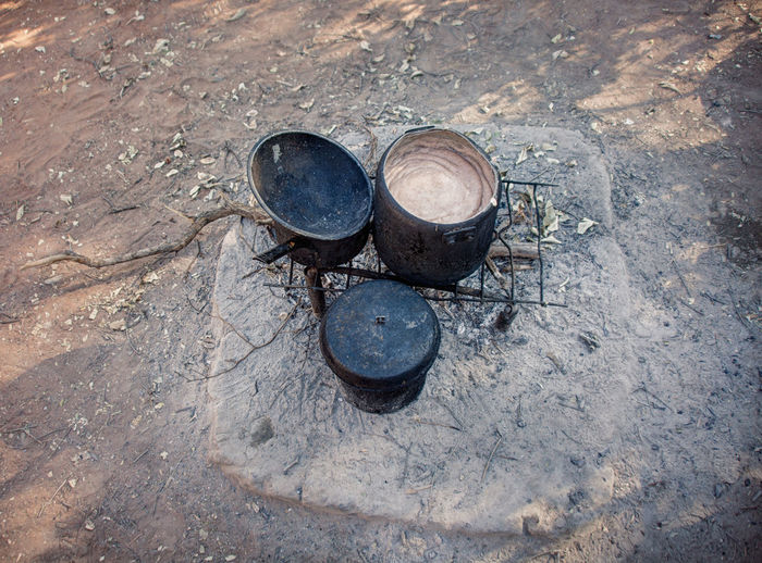 African Cooking Africa Day High Angle View No People Outdoors Pot Traditional