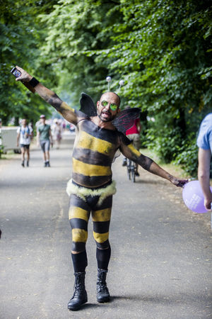 Pride Festival Berlin Beam Berlin Casual Clothing CSD CSD Berlin 2016 Custom Day Festival Focus On Foreground Full Length Gay Happy Leisure Activity Lifestyles Love Man Nature Outdoors Pride Selective Focus Together Togetherness Tree Woman Women