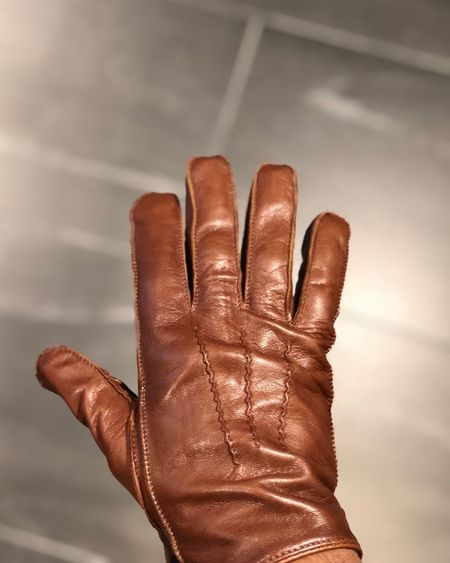 Gloves Leather Kuwait Gloves Glove Leather One Person Human Hand Human Body Part Hand Body Part Human Finger Indoors  Finger Men Glove Lifestyles Day Human Limb Real People