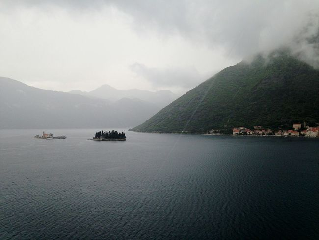 Landscape Scenics Mountain Tranquility Beauty In Nature Water Nature Outdoors Cloud - Sky No People Travel Travel Destinations Tourism Sea Seascape Photography Kotor Montenegro