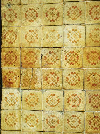 Portuguese Tiles  yellow