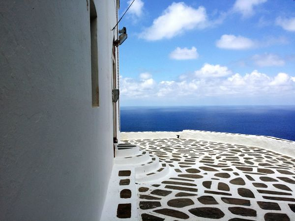 Sea Water No People Pattern Day Travel Destinations Horizon Over Water Outdoors Scenics Sky Nature Beauty In Nature Sea And Sky Blue Greece