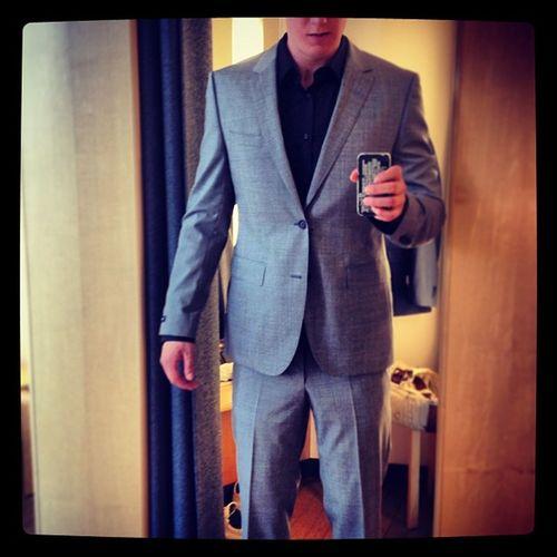 Mein Neu Erster Boss Anzug suit happy Status ✌ ;D