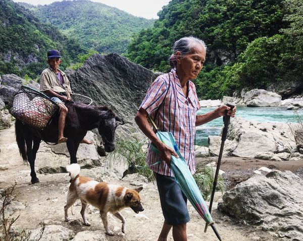 Road access, farm to market roads are still big problems in the Philippines, especially in the remote areas. This left local with no choice but to walk several miles and carry their products from the mountains to town. The Photojournalist - 2017 EyeEm Awards