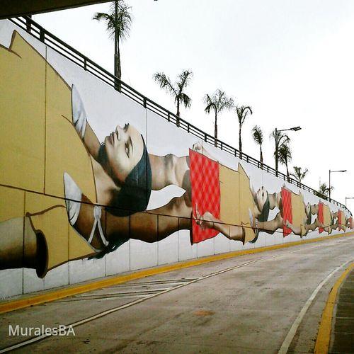 Por Martin Ron tunel Metrobus en la ciudad de Buenosaires Argentina Muralesba Streetart Mural Streetphotography Graffiti ArtWork The Street Photographer - 2015 EyeEm Awards