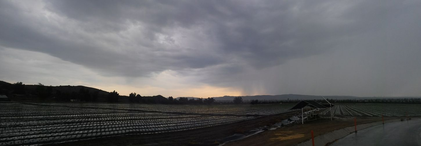 Agriculture Cloud - Sky Thunderstorm Storm Cloud No People Stormy Weather Stormy Skies Rainy Day Photography Weatherporn Downpour Landscape_photography Irvine, California. Outskirts Of Town Rainy Sunday Rainy Sky Landscape Afternoon Light Rain Outdoors Horizontal Tranquil Scene Landscape_Collection Panoramic Photography Panorama Panoramic Landscape