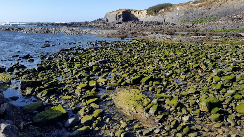 Beach Beach Water Close-up Sky Rock Formation Physical Geography Geology Rock - Object