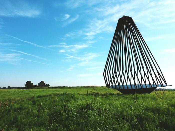 Schokland Werelderfgoed landshape Noordoostpolder landschap Schuttevear