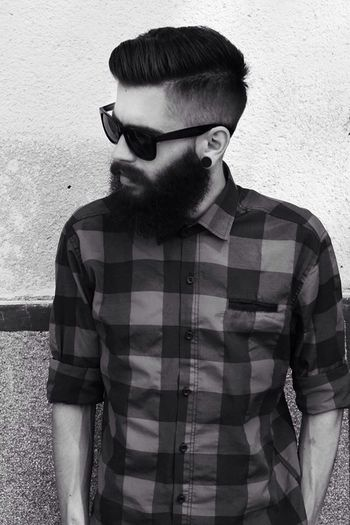 My style! :) Beard Fashion Hipster Mystyle