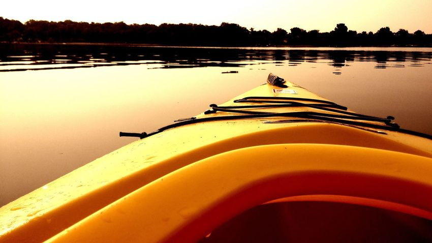 Kayak Sunrise On The Lake Waterford Michigan Elizabeth Lake, Michigan Relaxing Time What A Way To Start The Day