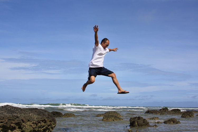 Leap over your