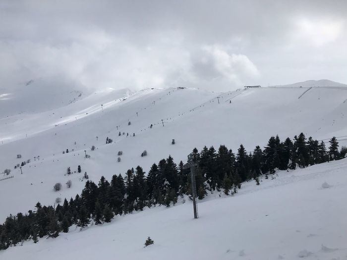 Skiing in Turkey Uludağ/Milli Park Environment Scenics - Nature Nature Landscape Snowcapped Mountain Tranquility No People