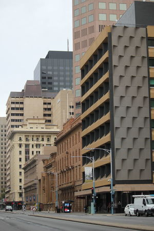 City Street Adelaide South Australia