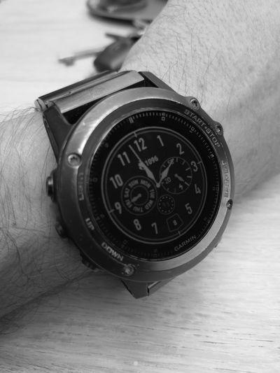 Garmin Fenix 3 Sapphire 😎👍 Huaweip20pro Huaweiphotography Garmin Garminfenix3 Time Clock Wristwatch Clock Face Close-up Minute Hand Instrument Of Time