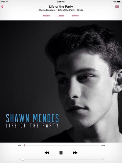 GO DOWNLOAD SHAWN'S NEW SONG !!! Shawn Mendes Lifeoftheparty