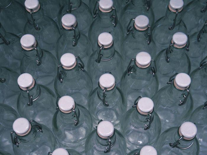 Full frame shot of bottle