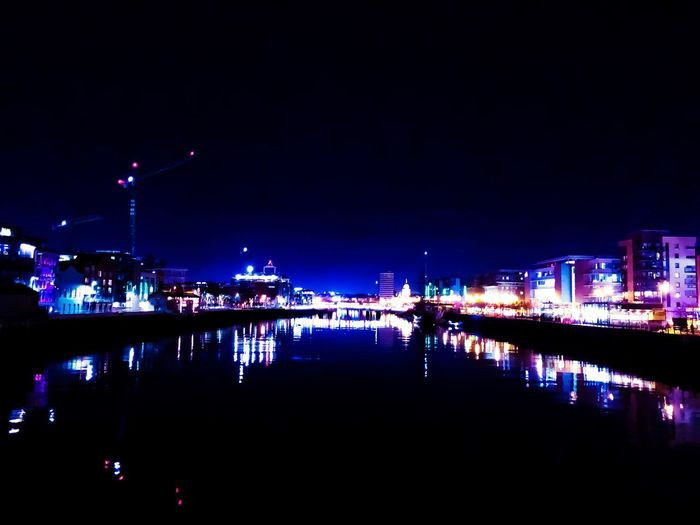 Midway over the river Liffey ShotOnIphone Mobile Photography IPhoneography IPhone X IPhone River Liffey Liffey River Ireland Dublin Illuminated Night Reflection Water Built Structure River Architecture Waterfront Travel Destinations Outdoors City Cityscape