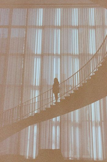 Showing Imperfection Expired Film Filmphotography Kodak Filmcamera Filmisnotdead 35mmfilmphotography 35mm 35mmfilm Nikon Nikonphotography Analogue Photography Grain Stairs Chicago Art Institute