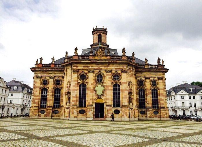 Ludwigskirche Saarbrucken Saarland Church Churchporn Stengel Baroque Architecture