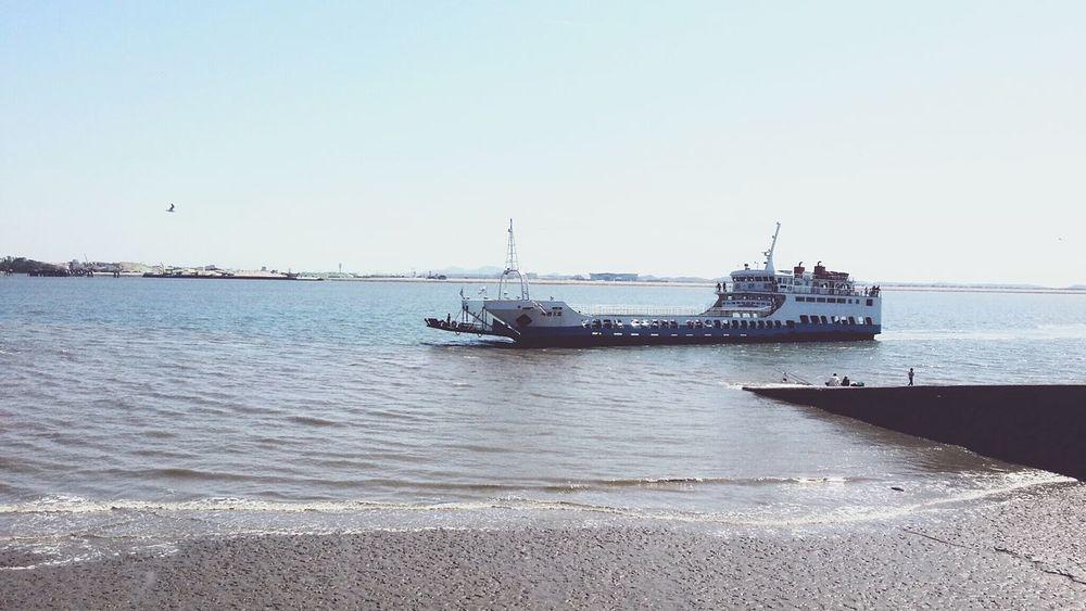 Korea Short Trip Smartphonephotography Sea Seaside Port Ship Island Sindo Nice Weather Neighborhood Map