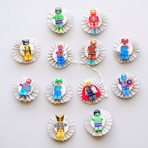 Pastel Power Magnets Toys Buttons Marvel Kids Refrigerator Magnets