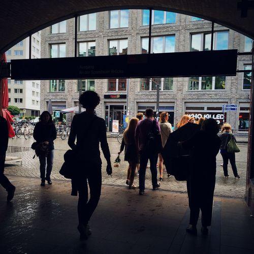 Streets of Berlin, Hackescher Markt. EverchangingBerlin European Instameet Berlin 2014 Mobilephotography.de NEM Street
