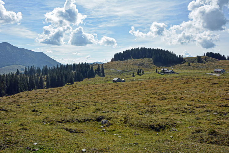 The postalm is an alpine pasture in the municipality of strobl in the province of salzburg