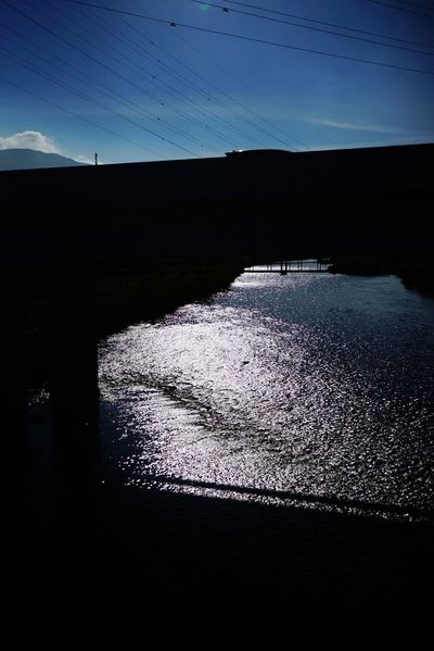 river and sunshine Subshine River Water Sky Nature Sea Tranquility Scenics - Nature No People Beauty In Nature Outdoors Non-urban Scene
