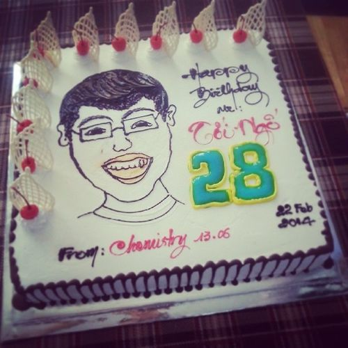 To our teacher with love :)) HappyBirthday MrToi