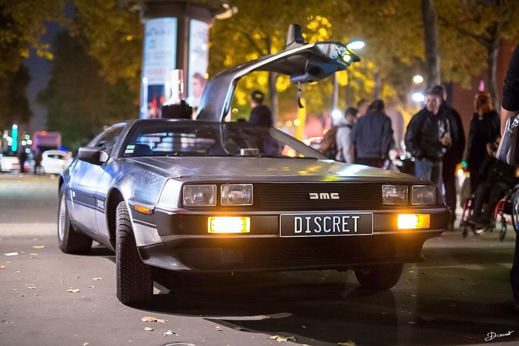 Back To The Future Retour Vers Le Futur ✌ Retour Vers Le Futur Delorean Paris