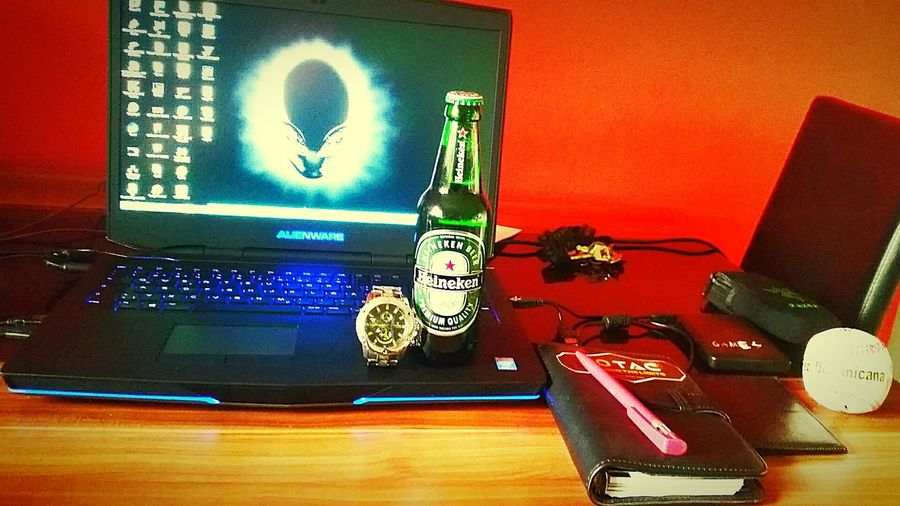 My Hobby Alienware Festina Heineken Enjoying Life Relaxing GTA V Baseball ⚾ NOTIZBUCH