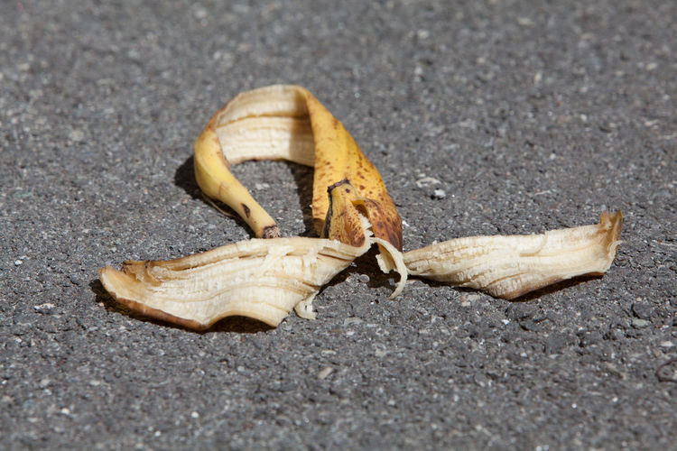 Close-Up Of Banana Peel