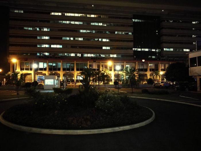 City IvoryCoast No People Illuminated Night Le Plateau Sgbci