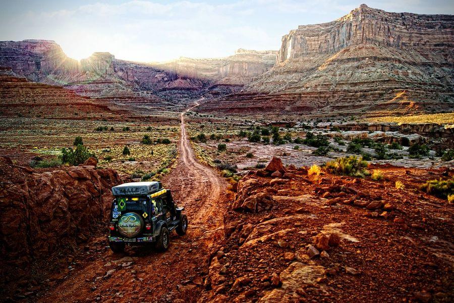 The Traveler - 2015 EyeEm Awards Troller Arizona OverlandExpo Overlanding Overland Offroad 4x4